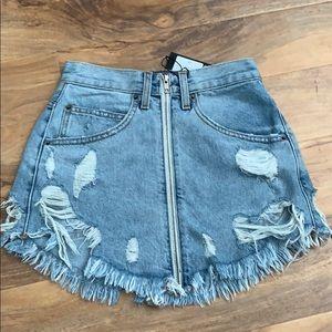 denim skirt from LF brand new